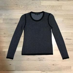 rag & bone long sleeve sweater top xs